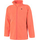 Color Kids Tembing Fleece Jacket Kids fiery coral